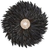 CHILDHOME - JUJU FEATHERS 30 cm ANTHRACITE