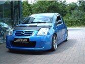 AutoStyle Motorkapsteenslaghoes Citroen C2 2004-2007 zwart