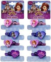 Disney Sofia het Prinsesje haarelastiekjes set van 8 stuks