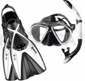 Mares X-One Marea Snorkelset Wit M/L