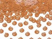 Halloween Confetti Pompoen 1x1cm 15 gram