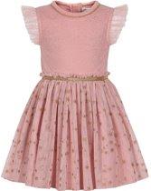 Minymo - jurk - tule - roze