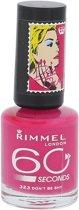 Rimmel 60 seconds RO collectie - 323 Don't Be Shy - Nailpolish