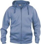 Clique - Sweatshirt met capuchon - Unisex - Maat XL - Licht Blauw