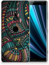 Sony Xperia XZ3 TPU Hoesje Design Aztec
