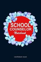 School counselor gift notebook