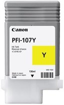 PFI-107Y inktcartridge geel standard capacity 130ml 1-pack