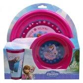 Disney Frozen - Ontbijtset 3-delig - Roze