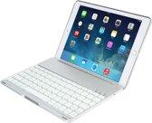 iPad Air 2 Case Bluetooth verlicht Toetsenbord Zilver