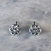 Flowery oorknopjes