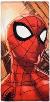 Spiderman Strandlaken Close - 70x140 - Red