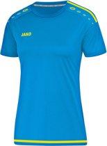 Jako Striker 2.0 Dames T-Shirt - Voetbalshirts  - blauw licht - 44