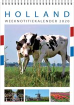Weeknotitiekalender 2020 Holland (wit)