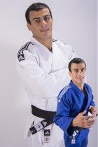 Judopak Adidas Champion II slimfit | IJF | blauw maat 180