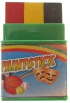Push-up paint stick mini zwart | geel | rood