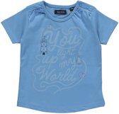 Blue Seven Meisjes T-shirt - Blauw - Maat 86