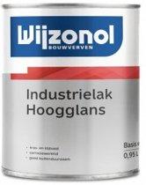 Wijzonol Industrielak Hoogglans 2.5L Wit