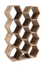J-Line WijnRek Hexagon 170 x 110 x 40