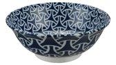 Tokyo Design Studio - Mixed Bowls Noodle Bowl Enmusubi 20.3x8cmh 1000ml