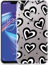 Asus Zenfone Max M2 Hoesje Watercolor Hearts