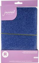 American Crafts - Journal Studio Kit  - Blue Glitter - 48pagina's
