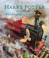 Boek cover Harry Potter 1 - Harry Potter and the Philosophers Stone | Illustrated Edition van J.K. Rowling (Hardcover)