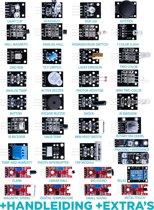Arduino sensor module starter kit 37 delig in 1 | Uno R3 Mega 2560 Nano V2