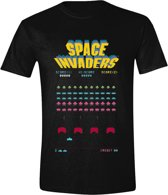 Space Invaders - Game Screen Mannen T-Shirt - Zwart - M