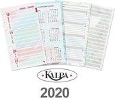 Kalpa 6218-20 Personal-Standaard organiser week agenda Dreamnotes EN-NL 2020