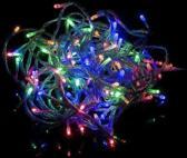 LED Lichtsnoer voor binnen en buiten 20 meter mulit colour met 8 lichtstanden