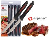 Alpina Steakmessen - 12 Delig - RVS