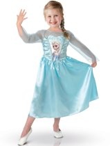 Disney Frozen Jurk - Prinses Elsa - Verkleedkleding - Maat S - 103/116 - 3-5 jaar