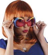 Partybril Chill Diamond Veelkleurig