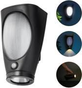 O'DADDY - Gemma - Solar - wandlamp - tafellamp - zaklamp - bewegingssensor