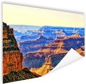 Uitizicht over Grand Canyon Poster 120x80 cm - Foto print op Poster (wanddecoratie)