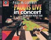 Paul McCartney in concert -paul is live