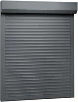 vidaXL Rolluik 110x130 cm aluminium antraciet