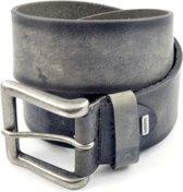 Alberto Heren Jeans riem 4808 - Zwart - 85 cm