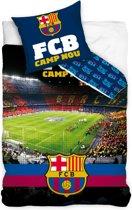 Carbotex Fc Barcalona Dekbedovertrek Stadion 140 X 200 Cm
