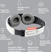 Manta Sleep Mask - slaapmasker - 100% verduisterend en supercomfortabel