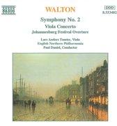 Walton: Symphony no 2, Viola Concerto, etc / Tomter, Daniel