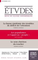 Etudes : Les populismes et l'appel au ''peuple''