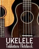 Ukelele Tablature Notebook