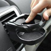 Universele Zwarte Bekerhouder Auto | Blikjeshouder Ventilatierooster | Auto Drankhouder | Car Can Holder / Frisdrank houder voor voertuig