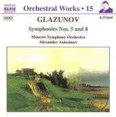 Glazunov: Symphonies Nos.5 & 8