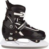 Nijdam 3170 Junior IJshockeyschaats - Verstelbaar - Semi-Softboot - Maat 29-32