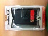Qware Leather etui wallet (black)