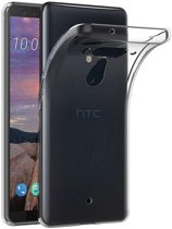 HTC U12 Plus hoesje - Soft TPU case - transparant