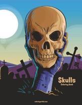 Skulls Coloring Book 1