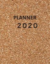 Planner 2020: Daily Weekly Monthly Calendar Planner/ To Do List Academic Schedule Agenda Logbook Or Student & ... (2020 Planner Week